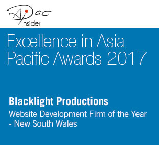 Excellence in Asia Pacific Awards - Web Development Firm of the Year